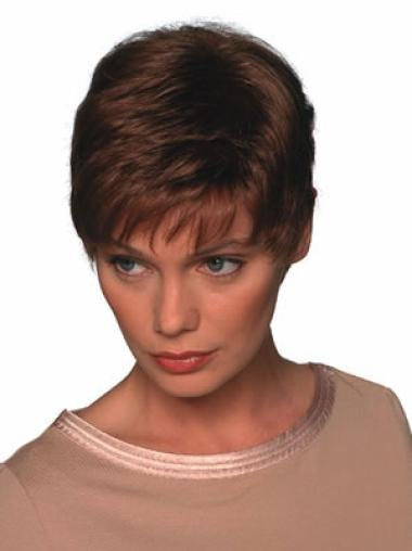 Comfortable Synthetic Straight Boycuts Short Wigs