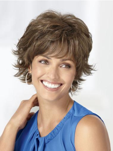 Discount Brown Wavy Short Classic Wigs