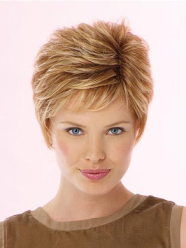 Lace Front Blonde Wavy Pleasing Celebrity Wigs