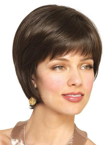 Cheapest Brown Straight Short Wigs
