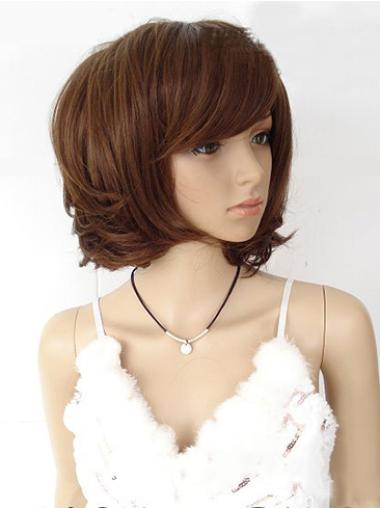 Faddish Auburn Straight Chin Length Wigs