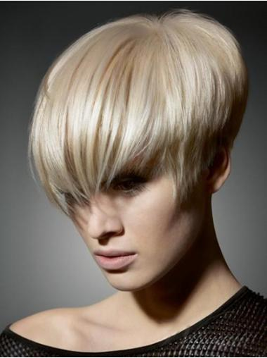 Fabulous Blonde Synthetic Straight Short Wigs