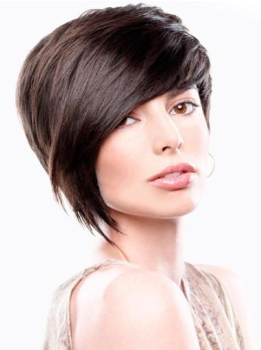 Discount Brown Straight Short Wigs
