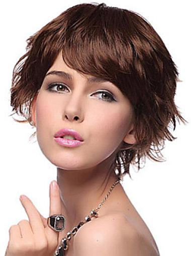 Nice Synthetic Wavy Layered Short Wigs