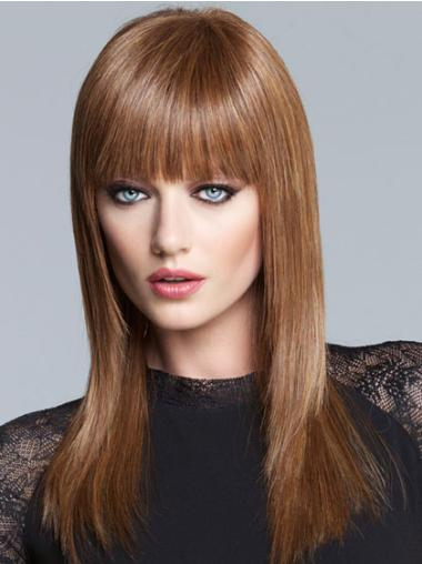 Radiant Lace Front Straight Synthetic Long Wigs