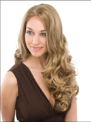 No-fuss Synthetic Curly Blonde Long Wigs