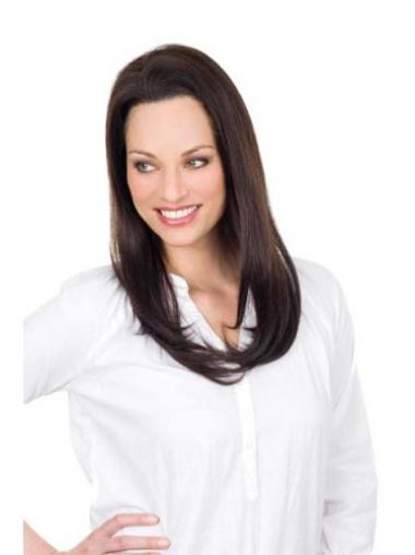 Lace Front Brown Straight Affordable Remy Human Lace Wigs