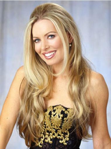 Good Blonde Wavy Long Celebrity Wigs