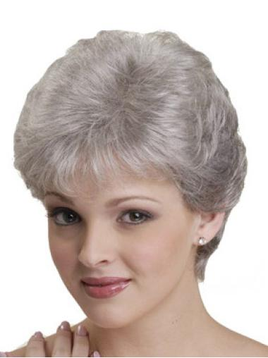 Online White Straight Short Classic Wigs