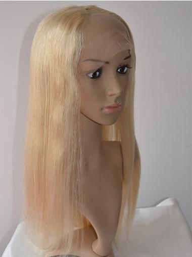 Lace Front Blonde Straight Refined U Part Wigs