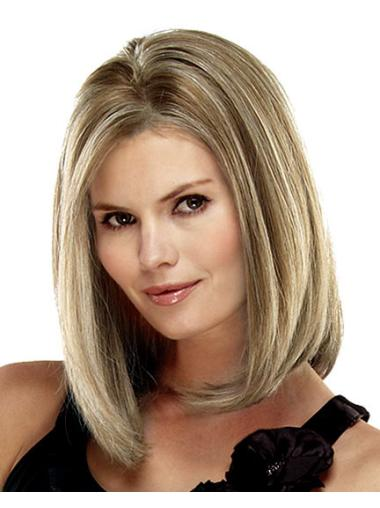 Lace Front Blonde Straight Discount Remy Human Lace Wigs