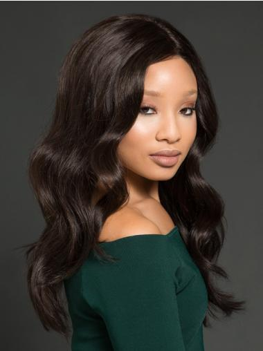 Long Wavy Black Discount African American Wigs