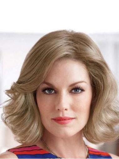 Lace Front Blonde Wavy Polite Classic Wigs