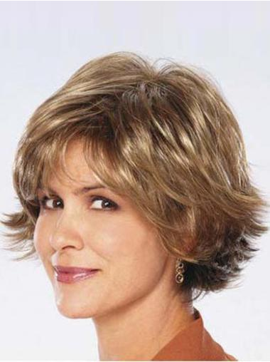 Good Brown Wavy Chin Length Synthetic Wigs