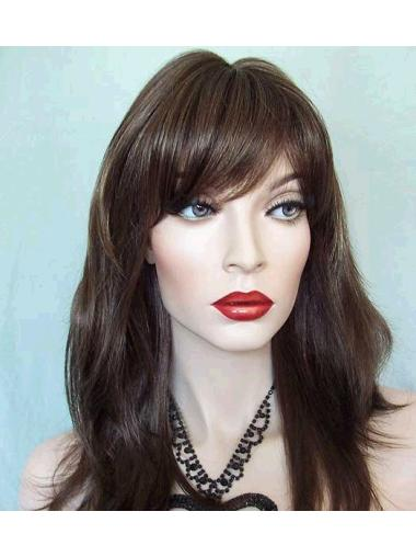 Exquisite Lace Front Straight Synthetic Long Wigs