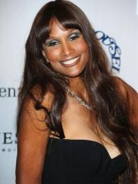 Beverly Johnson Extra long Body Wave Style Lace Front Wig 24 Inches with Bangs