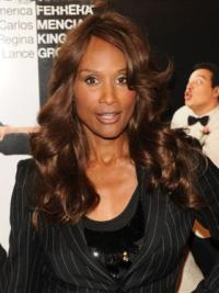 Know more for Beverly Johnson Retro Style Long Wavy Lace Front Human Hair Wig