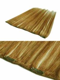 Flexibility Blonde Straight Clip in Hair Extensions