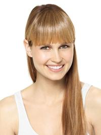 Suitable Blonde  Clip In Fringe