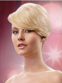 Top Blonde  Clip In Fringe