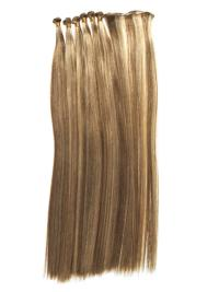 Natural Blonde Straight Tape in Hair Extensions