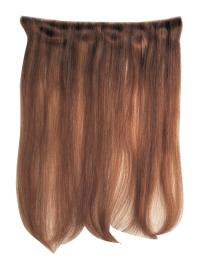 Convenient Auburn Straight Tape in Hair Extensions
