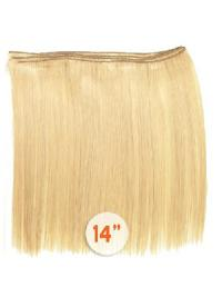 No-fuss Blonde Straight Tape in Hair Extensions