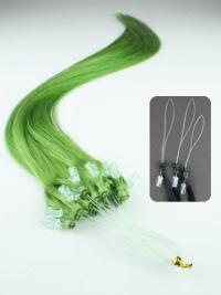 Incredible Black Straight Hair Extensions Micro Loop Ring