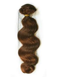 Fabulous Auburn Wavy Tape in Hair Extensions