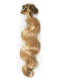 Soft Blonde Wavy Tape in Hair Extensions