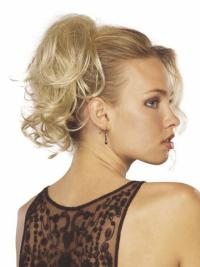 Refined Blonde Wavy Clip in Hairpieces