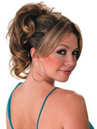 Exquisite Brown Wavy Synthetic Ponytails