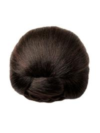 Pleasing Brown Synthetic Wraps/Buns