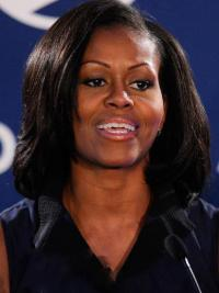 Full Lace First Lady Wigs Michellle Obama Wigs