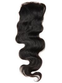 Cool Black Wavy Long Lace Closures
