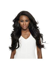 Graceful Black Wavy Long Lace Frontals