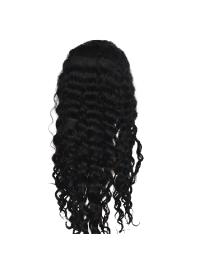 Pleasing Black Wavy Long Kylie Jenner Wigs