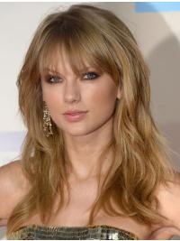 Elegant Blonde Wavy Long Taylor Swift Wigs