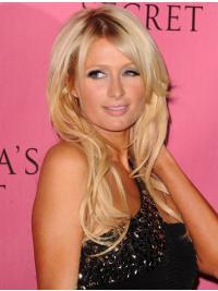 Faddish Blonde Wavy Long Paris Hilton Wigs