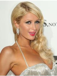 Affordable Blonde Wavy Long Paris Hilton Wigs