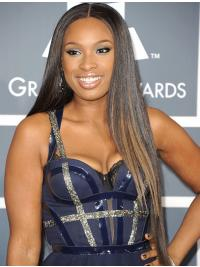Lace Front Brown Straight Elegant Jennifer Hudson Wigs