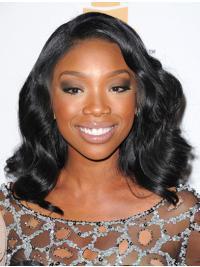 Lace Front Black Wavy Incredible Jennifer Hudson Wigs