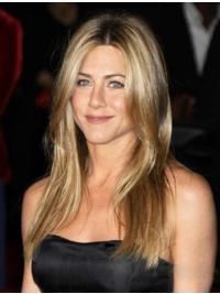 Perfect Blonde Straight Long Jennifer Aniston Wigs