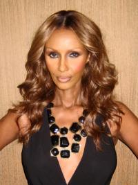 Iman Elegante Lace Front Brown Wigs
