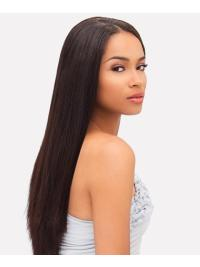 Top Indian Remy Hair Straight Auburn Long Wigs