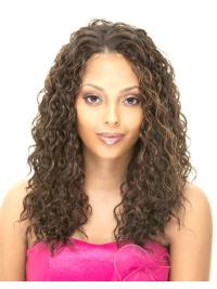 Sassy Blonde Curly Long African American Wigs