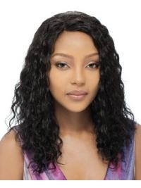 Graceful Black Curly Long Human Hair Full Lace Wigs