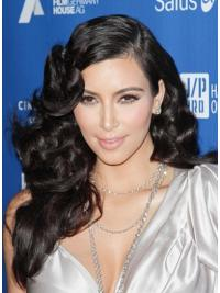 Lace Front Black Curly Radiant Kim Kardashian Wigs