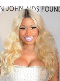 Beautiful Blonde Wavy Long Nicki Minaj Wigs