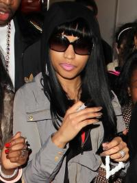 New Black Straight Long Nicki Minaj Wigs